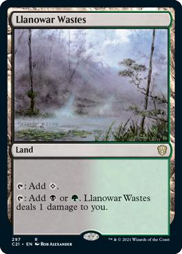 Llanowar Wastes