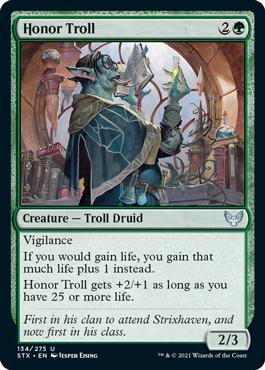 Honor Troll