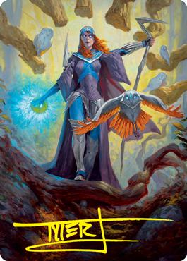 Kasmina, Enigma Sage Art Card