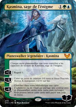 Kasmina, sage de l'énigme sans bordure