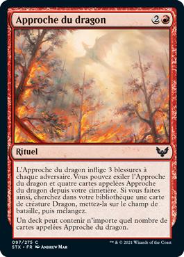 Approche du dragon