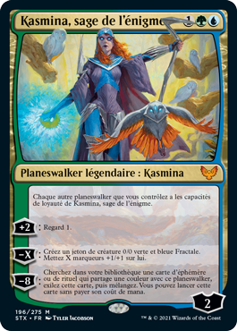Kasmina, sage de l'énigme