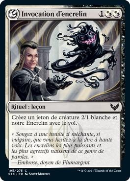 Invocation d'encrelin