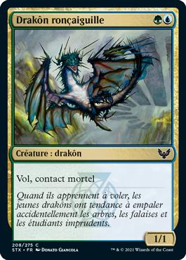 Drakôn ronçaiguille