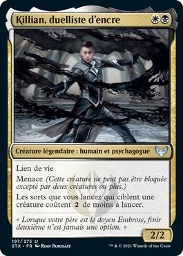 Killian, duelliste d'encre