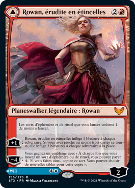 Rowan, érudite en étincelles
