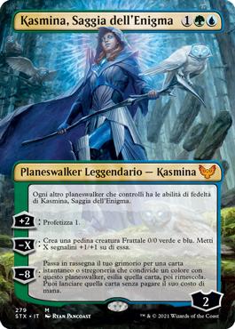 Kasmina, Saggia dell'Enigma senza bordo