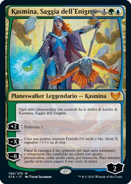 Kasmina, Saggia dell'Enigma