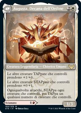 Augusta, Decana dell'Ordine