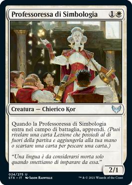 Professoressa di Simbologia