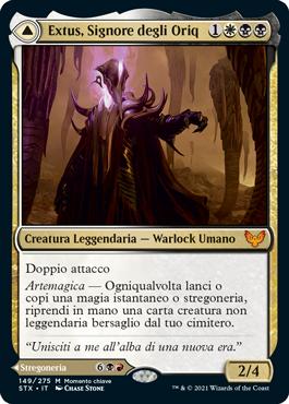 Extus, Signore degli Oriq