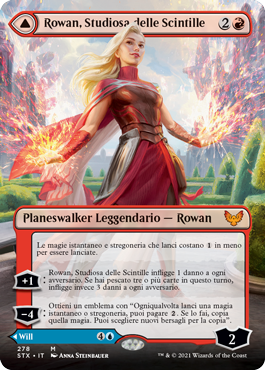 Rowan, Scholar of Sparks