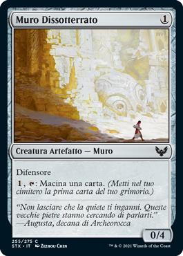 Muro Dissotterrato