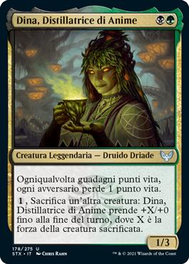 Dina, Distillatrice di Anime