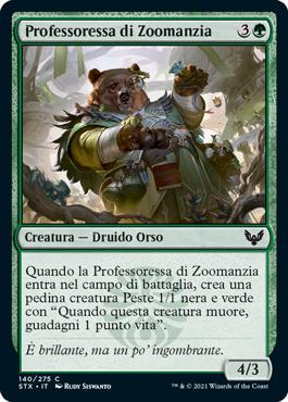 Professoressa di Zoomanzia