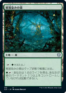 樹液染みの森
