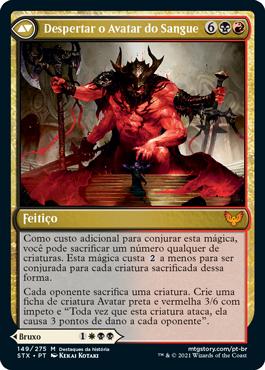 Despertar o Avatar do Sangue