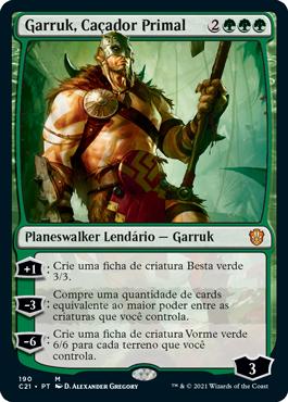 Garruk, Caçador Primal