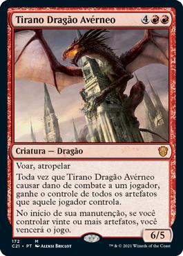 Tirano Dragão Avérneo