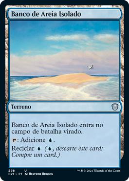 Banco de Areia Isolado