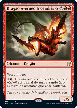 Dragão Avérneo Incendiário