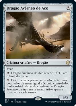 Dragão Avérneo de Aço
