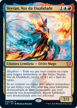 Veyran, Voz da Dualidade