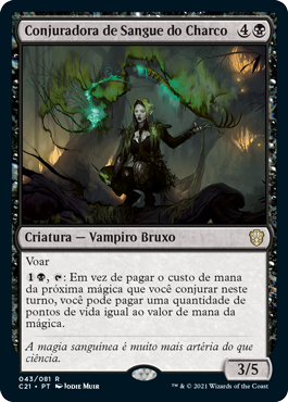 Conjuradora de Sangue do Charco