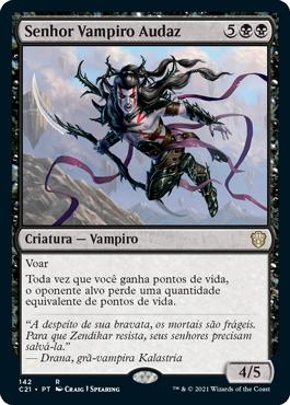 Senhor Vampiro Audaz