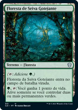 Floresta de Seiva Gotejante