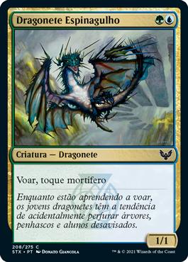 Dragonete Espinagulho