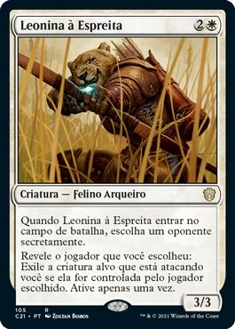 Leonina à Espreita