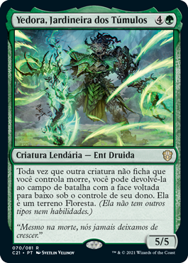 Yedora, Jardineira dos Túmulos