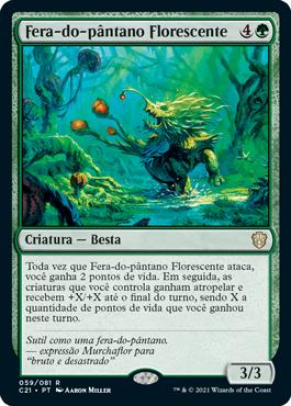Fera-do-pântano Florescente