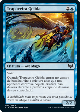 Trapaceira Gélida