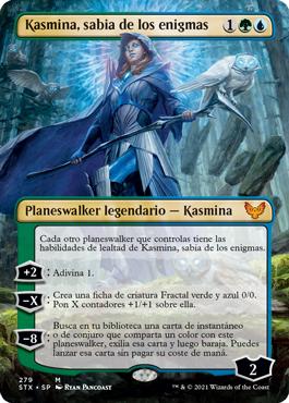 Kasmina, sabia de los enigmas sin borde