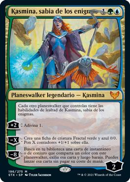 Kasmina, sabia de los enigmas