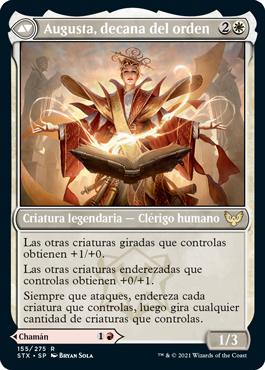 Augusta, decana del orden