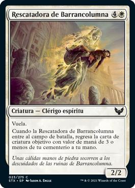 Rescatadora de Barrancolumna