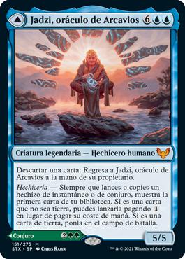 Jadzi, oráculo de Arcavios