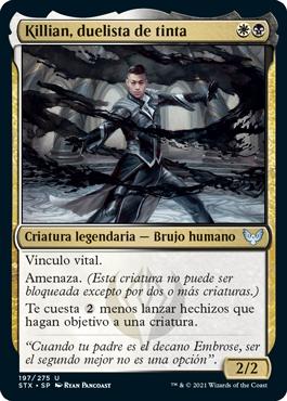 Killian, duelista de tinta