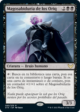 Magosabiduría de los Oriq