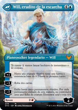 Will, erudito de la escarcha