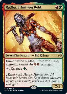 Radha, Erbin von Keld