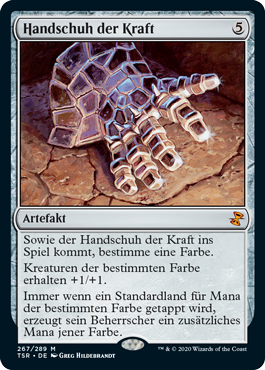 Handschuh der Kraft