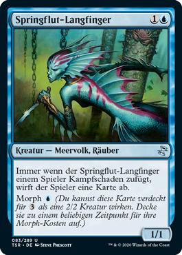 Springflut-Langfinger