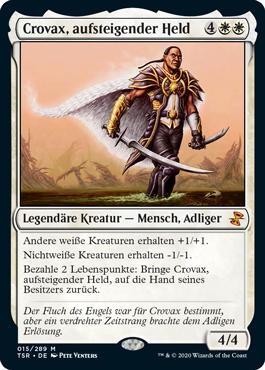 Crovax, aufsteigender Held