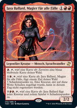 Jaya Ballard, Magier für alle Fälle