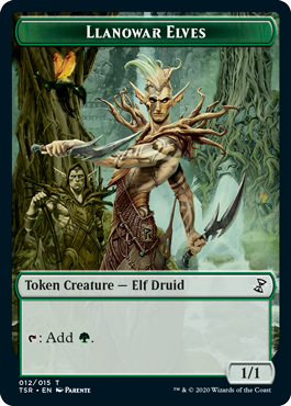 Llanowar Elves Token