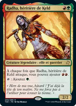 Radha, héritière de Keld